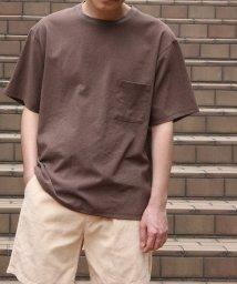 ADAM ET ROPE'/【EVALET】クルーネックTシャツ/吸汗・速乾/502994407