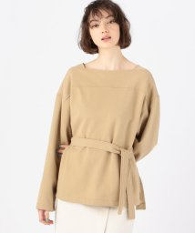 MACPHEE/コットンポリエステルブークレー バスクシャツ/502994415