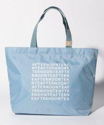 Afternoon Tea LIVING/スクエアロゴ柄スリットポケット付きバッグS/502925947
