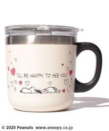 Afternoon Tea LIVING/PEANUTS/フタ付きステンレスマグカップ/502957827