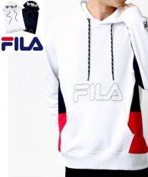 MARUKAWA/【FILA】フィラ ロゴプリント 脇切替え 裏毛 パーカー 春/502963437