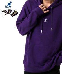 MARUKAWA/【KANGOL】カンゴール ビッグシルエット ミニロゴ刺繍 袖ロゴプリント バックロゴプリント 裏毛 パーカー 春/502963438