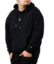 MARUKAWA/【KANGOL】カンゴール 大きいサイズ ビッグシルエット ミニロゴ刺繍 裏毛 パーカー 春/502963447