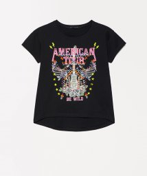 SISLEY YOUNG/アメリカンプリントTシャツ・カットソー/502976530