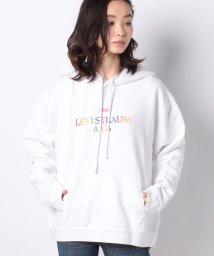 LEVI'S LADY/'UNBASIC' HOODIE 90S TEXT LOGO HOODIE WH/502976964
