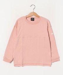 petit main/オーガニックコットン 切り替えTシャツ/502978698
