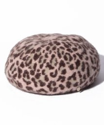"""FURLA/FURLA """"レオパード ベレー帽""""/502982330"""