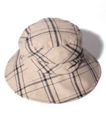 "MACKINTOSH PHILOSOPHY(umbrella)/MACKINTOSH PHILOSOPHY ""チェック ハット""/502982331"