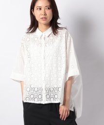 MARcourt/【mizuiro ind】front lace shirt/502984677