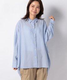 MARcourt/【mizuiro ind】tencel stripe shirt/502984682