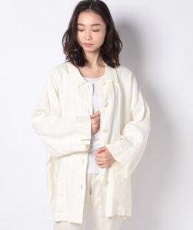 MARcourt/【mizuiro ind】linen wide shirt CT/502984693