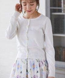 tocco closet/お花釦カーディガン/502991725