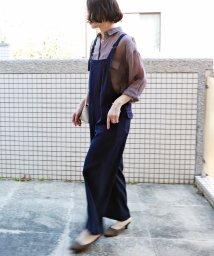 and Me.../とろみベイカーワイドサロペット オールインワン/502995360