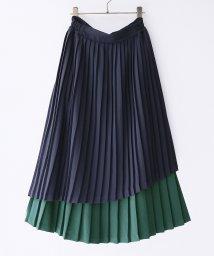 osharewalker/『nOr配色ティアードプリーツスカート』/502996111