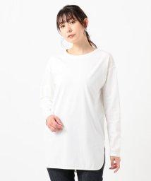 NIJYUSANKU(LARGE SIZE)/【洗える】Cotton Jersey カットソー/502996228