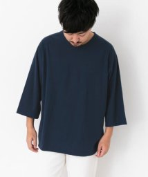 URBAN RESEARCH Sonny Label/TROO ULTIMA LINEN CREW 7分袖/502996437