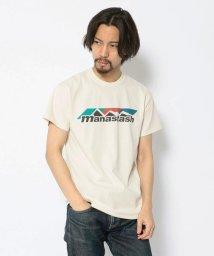 BEAVER/MANASTASH/マナスタッシュ COLOR SCHEME LOGO TEE ロゴ半袖Tシャツ/501919947