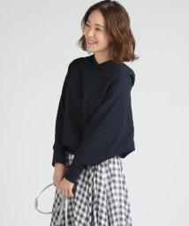 socolla/【socolla】アズマ裏毛抜け衿プルオーバー/502942743