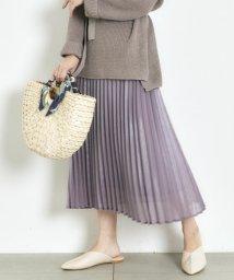 Mew's/エアリーシャインプリーツスカート/502954846