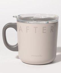 Afternoon Tea LIVING/ロゴワークスフタ付きステンレスマグカップ/502957824