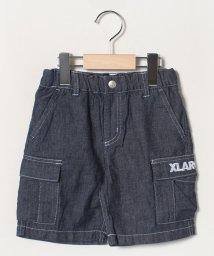 XLARGE KIDS/ルーズデニムカーゴショートパンツ/502978712