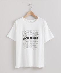 le.coeur blanc/ロックンロールプリントTシャツ/502980842