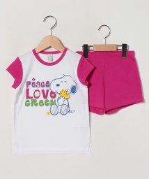 BENETTON (UNITED COLORS OF BENETTON GIRLS)/【SNOOPYコラボ】半袖パジャマ上下セット/502987534