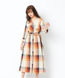REDYAZEL/オリジナルスプリングチェックシャツワンピース/502991010