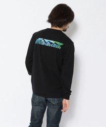 BEAVER/MANASTASH/マナスタッシュ GRADATION SCHEME LS 長袖Tシャツ/502998643