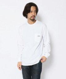 BEAVER/MANASTASH/マナスタッシュ LOGO PATCH POCKET LS TEE ロゴパッチポケットLSティー 長袖Tシャツ/502998644