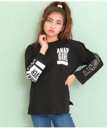 ANAP GiRL/ビッグサイズロングTシャツ/502998680