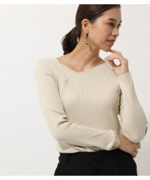 AZUL by moussy/SHOULDER STRAP KNIT TOPS/502998816