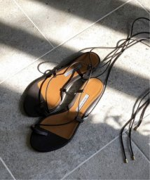 Plage/【EMME PARSONS/エム パーソンズ】 SUZAN LACE UP FLAT サンダル◆/502999788