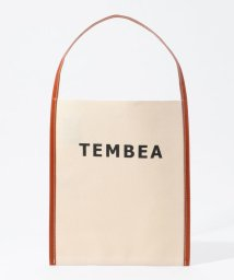 TOMORROWLAND GOODS/TEMBEA BIG LOGO トートバッグ/502999876