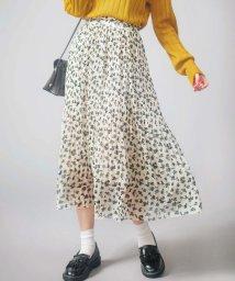 GeeRa/裾消しプリーツロングスカート        /502417267