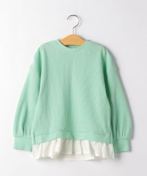 green label relaxing (Kids)/【キッズ】BRING ワッフルフリルプルオーバー/502963595