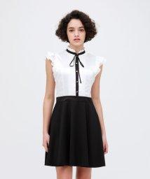 LOVELESS WOMEN/タックリボン ドレス/502969492