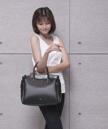 RESEXXY bag/配色アオリハンドバッグ 大/502969836