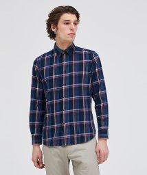 SISLEY/チェックドットボタンシャツ/502974088