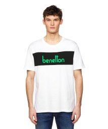 BENETTON (mens)/パネルカラーロゴTシャツ・カットソー/502976575