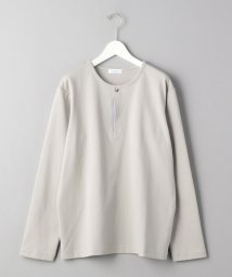 BEAUTY&YOUTH UNITED ARROWS/BY フライフロント ストライプ ヘンリーネック カットソー/502983769