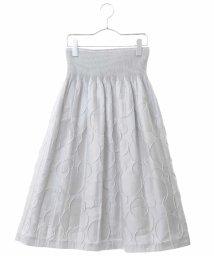 HIROKO BIS/シャーリングドットスカート/502994658