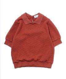 quoti use fith/プチプチカノコ5分袖ポロシャツ/502999978
