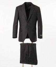 gotairiku/【DORMEUIL】EXEL BLUE グレー スーツ/ 無地/503000193