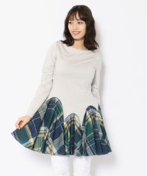 RoyalFlash/ADDICT NOIR/アディクト ノアー/Middle Check Dress/ミドルチェックドレス/503000246