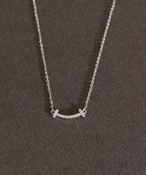 ninon/【3種展開】【silver925】Tスマイルネックレス/503002936