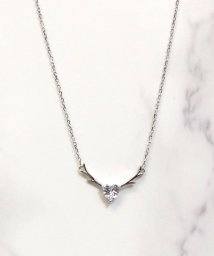 ninon/【6種展開】【silver925】ワンチャームアズキチェーンネックレス/503002937