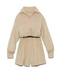Lily Brown/3wayシャツロンパース/503002981