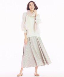 JIYU-KU /【洗える】フラワープリント フレアースカート/503004904