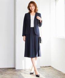JIYU-KU(LARGE SIZE)/【洗える】PREP TWILL スカート/503004907